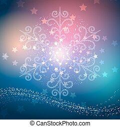 Magic Christmas Background