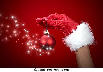 Magic christmas ball