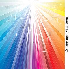 Magic Christmas lights - Rainbow Magic Christmas Ray Lights