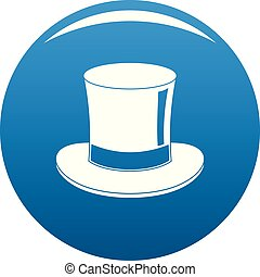 Magic cylinder icon blue vector