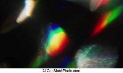 Magic futuristic background, iridescent, iridescent play of holographic foil.