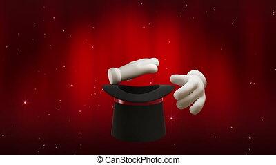 Magic Hat - High quality magic hat animation. Animation...