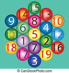 Magic Hexagon - amount of any straight path is 38