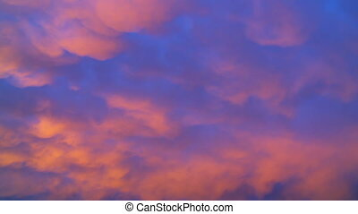 Magic Hour Clouds Time-lapse