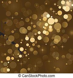 Magic lights, background sparkle