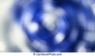 magic lights rotations - abstract background with radial...
