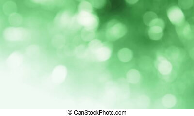 magic lights rotations - fantasy bokeh effect with place for...