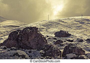 Magic morning Dolomites