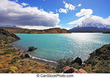 Magic national park Torres del Paine