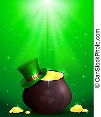 Magic Patricks day background