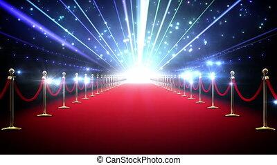 Magic red carpet loop