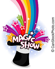 Magic Show Flyer Design