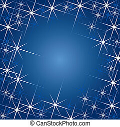 Magic Stars With Space For Text (vector)