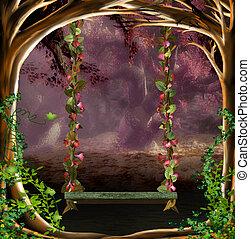 magic swing - illustration