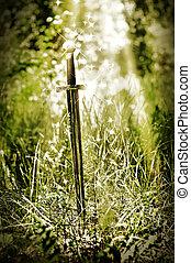 Magic sword
