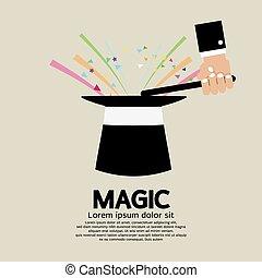 Magic Trick Of The Magician.