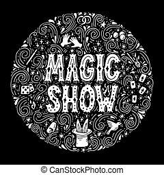 Magic trick performance