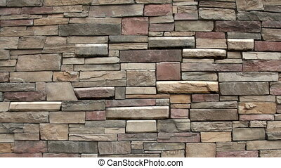 Magic wall - Real stone wall animated in After Effect
