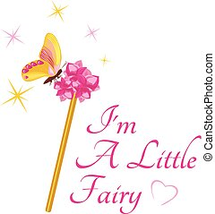 Magic wand for a little fairy