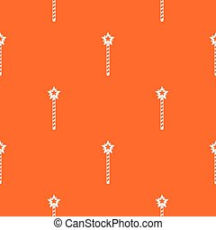 Magic wand pattern seamless
