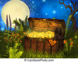 magical chest of treasure