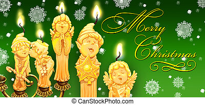 Magical Christmas In A Candlestick