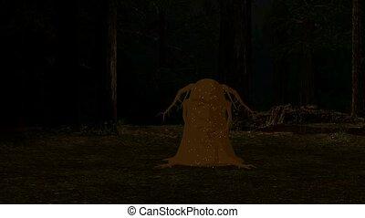 Magical Enchanted Tree