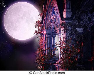 magical gothic night