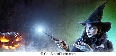 Magical Halloween - Witch Spell