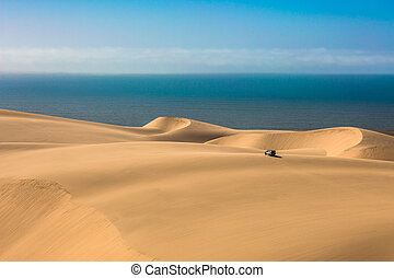 Atlantic shore of Namibia