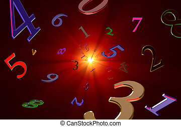 Magical knowledge about numbers (Numerology). - A lot of...
