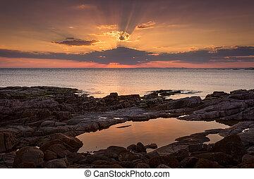 Magical sunsets Port Stephens Australia - Magical sunset...