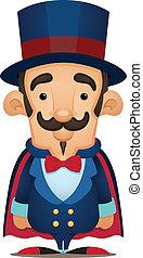 Magician - Cute Cartoon Character