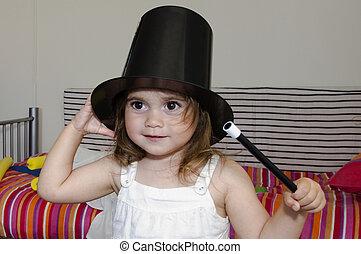 Magician Girl - Adorable Little magician girl dress of...