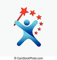 Magician Icon Logo