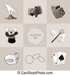 magician icons