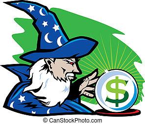 magicien, financier