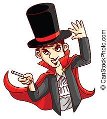 magicien, homme