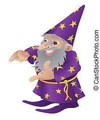 magicien, illustration