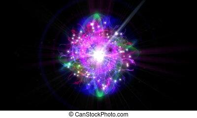 magie, étoile, orbite