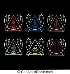 magie, rune, élémentaire