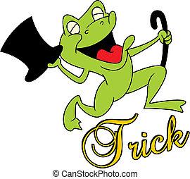 magik, tak, żaba