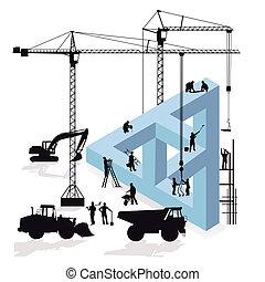 magination, construction