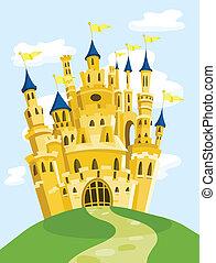 magisch, kasteel