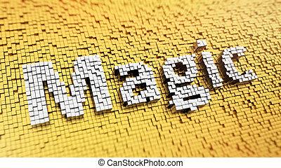 magisch, pixelated