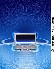 magisches, multimedia, technologie
