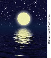 magisches, nacht