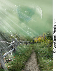 magisk, passage