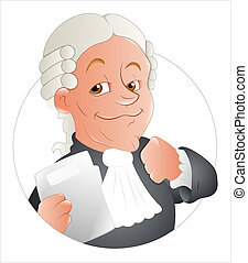 Magistrate Vector Illustration - Creative Conceptual Drawing...