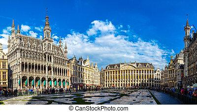 magnífico, bruselas, lugar